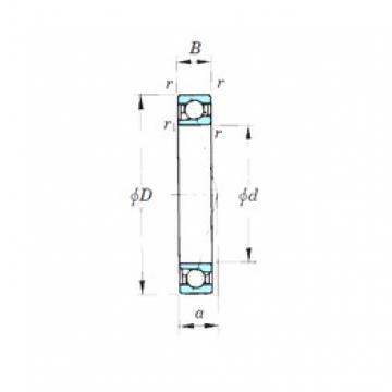 KOYO 7924CPA angular contact ball bearings