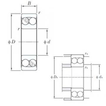KOYO 2212 self aligning ball bearings