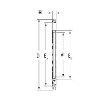 KOYO TV1734 needle roller bearings
