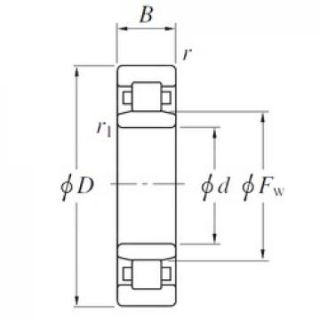 KOYO NU19/530 cylindrical roller bearings
