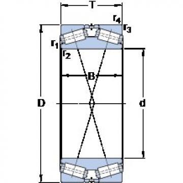 SKF 332129/HA4 tapered roller bearings