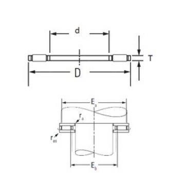 KOYO FNT-3552 needle roller bearings
