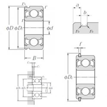 NTN SC890ZZNR deep groove ball bearings