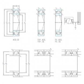 SKF 71902 CD/P4A angular contact ball bearings