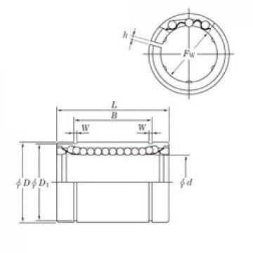 KOYO SESDM30 AJ linear bearings