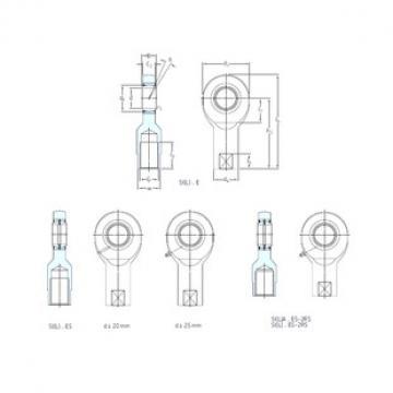 SKF SILA40ES-2RS plain bearings