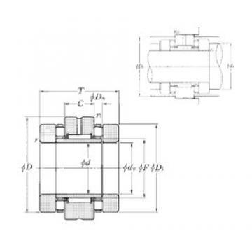 NTN ARN60120 complex bearings