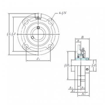 KOYO UCFCX10-31 bearing units