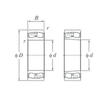 KOYO 239/800RHA spherical roller bearings