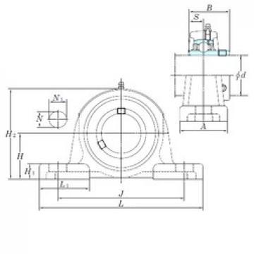 KOYO UCP207 bearing units