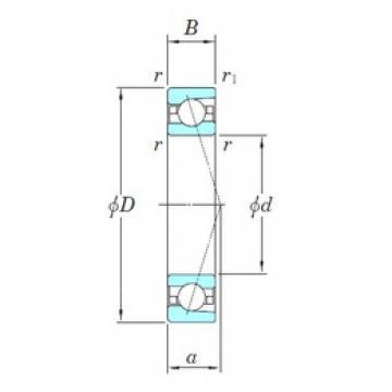 KOYO 3NCHAC002C angular contact ball bearings