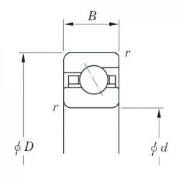 KOYO KCA140 angular contact ball bearings