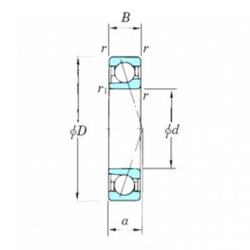 KOYO 7213CPA angular contact ball bearings