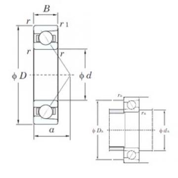 KOYO 7930C angular contact ball bearings