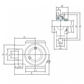 KOYO UCT324 bearing units
