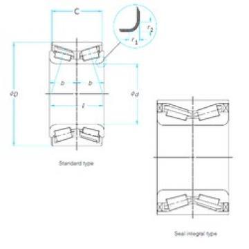SKF BTH-1024C tapered roller bearings