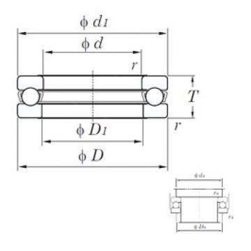 KOYO 511/530 thrust ball bearings