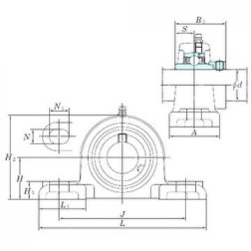 KOYO NAPK210 bearing units