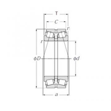 NTN 4T-430213X tapered roller bearings