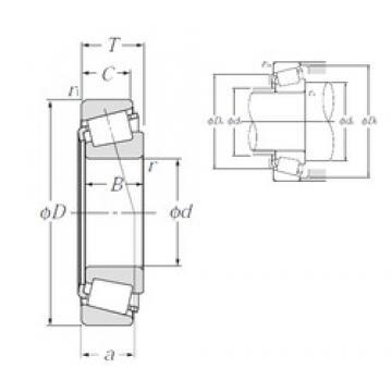 NTN 4T-L44649/L44610 tapered roller bearings