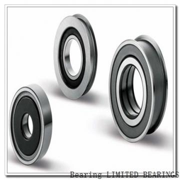 BEARINGS LIMITED 1638-2RS  Ball Bearings