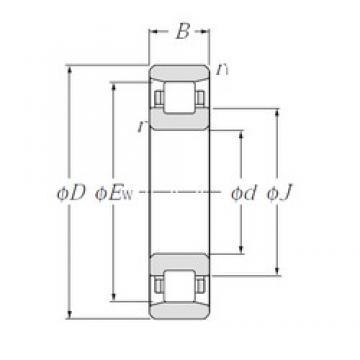 NTN N248 cylindrical roller bearings