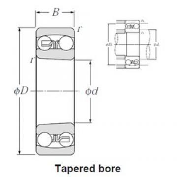 NTN 1217SK self aligning ball bearings