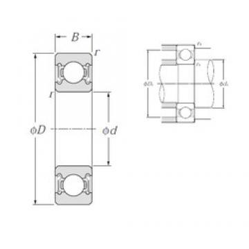 NTN 6205LLB deep groove ball bearings