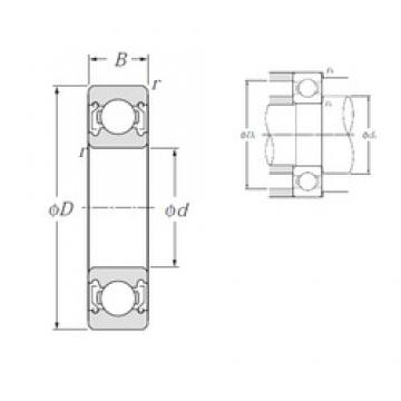 NTN 6812ZZ deep groove ball bearings