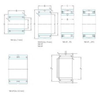 SKF NKI7/12TN needle roller bearings