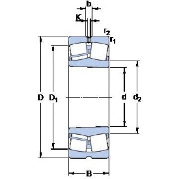 SKF 22318 EK spherical roller bearings
