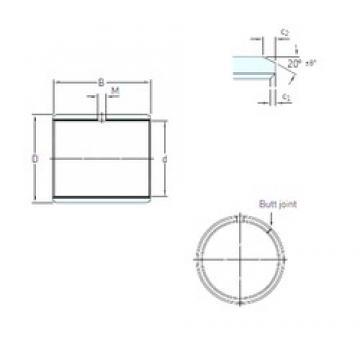 SKF PCM 202315 M plain bearings