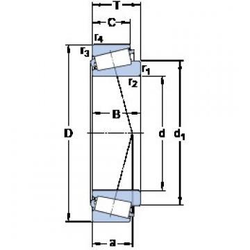 SKF 64450/64700 tapered roller bearings