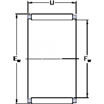SKF K 75x83x30 cylindrical roller bearings
