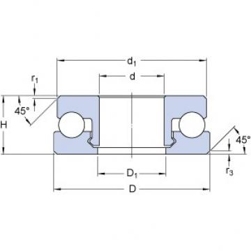 SKF 51100 V/HR11Q1 thrust ball bearings