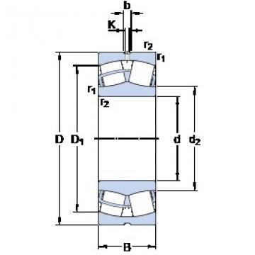 SKF 22244 CC/W33 spherical roller bearings