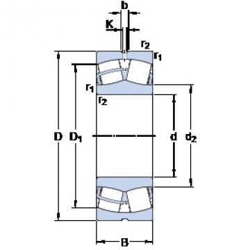 SKF 24034 CC/W33 spherical roller bearings
