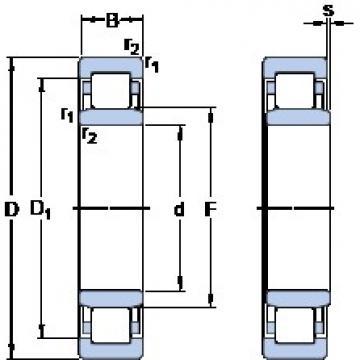 SKF NU 19/850 ECMA/HA1 thrust ball bearings