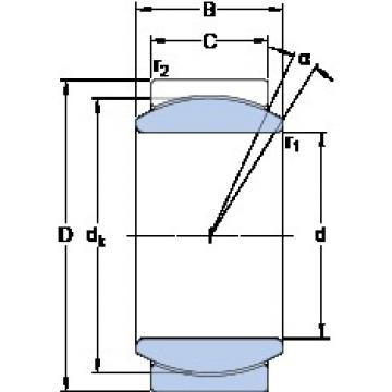 SKF GE 20 C plain bearings