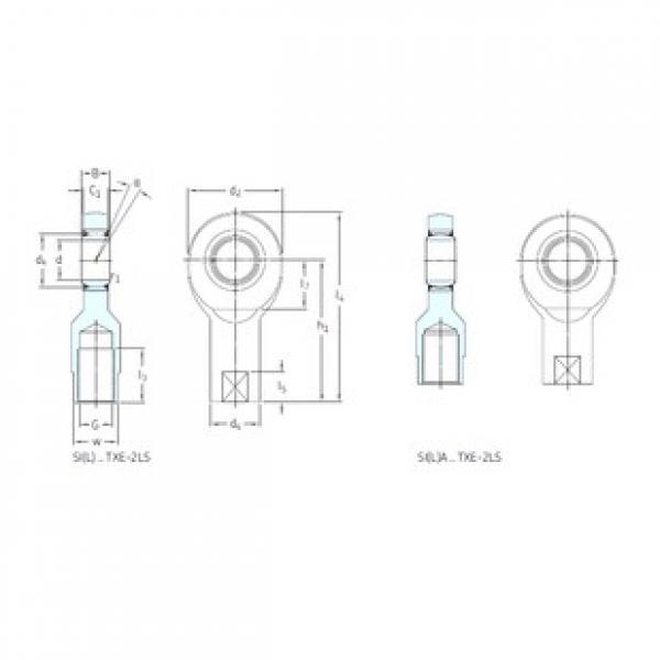 SKF SIL60TXE-2LS plain bearings #3 image