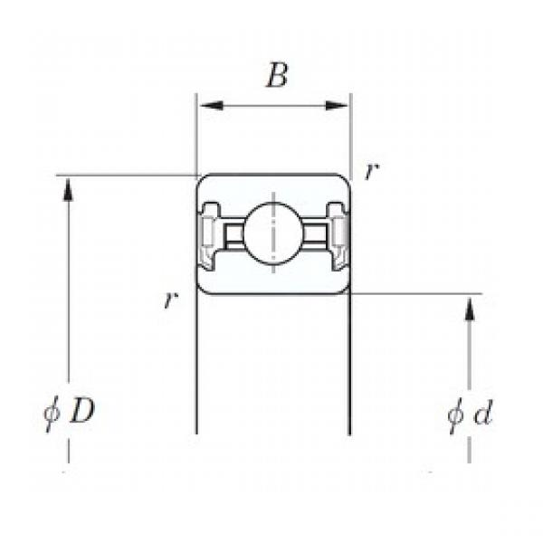 KOYO KUC040 2RD deep groove ball bearings #3 image