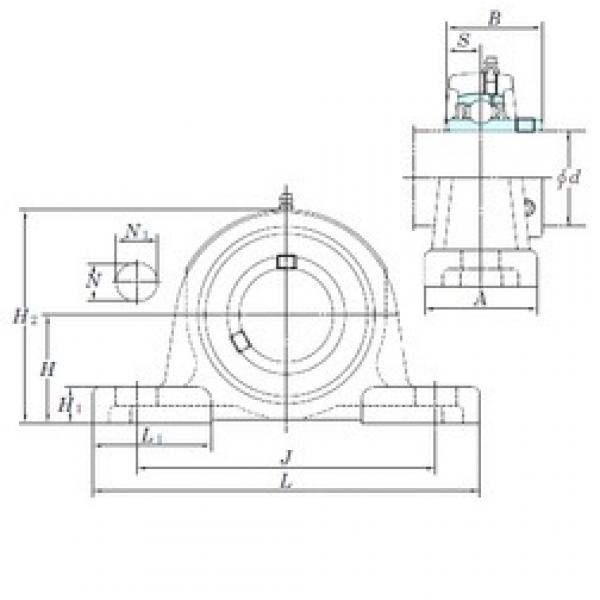 KOYO UCP213-40 bearing units #3 image
