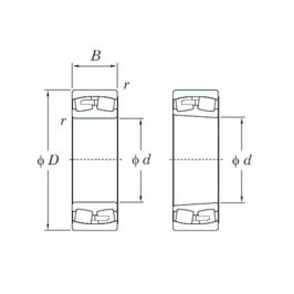 KOYO 22272RK spherical roller bearings #3 image