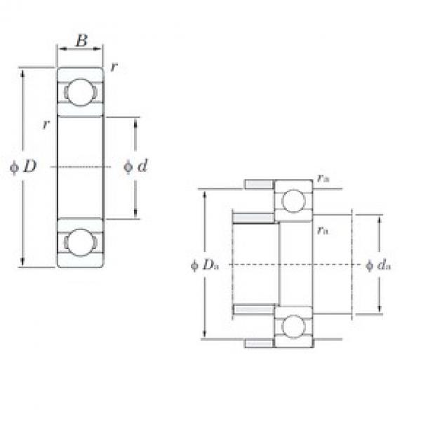 KOYO 6364 deep groove ball bearings #3 image
