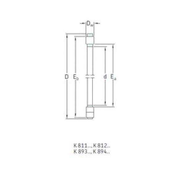 SKF K89413TN thrust roller bearings #3 image