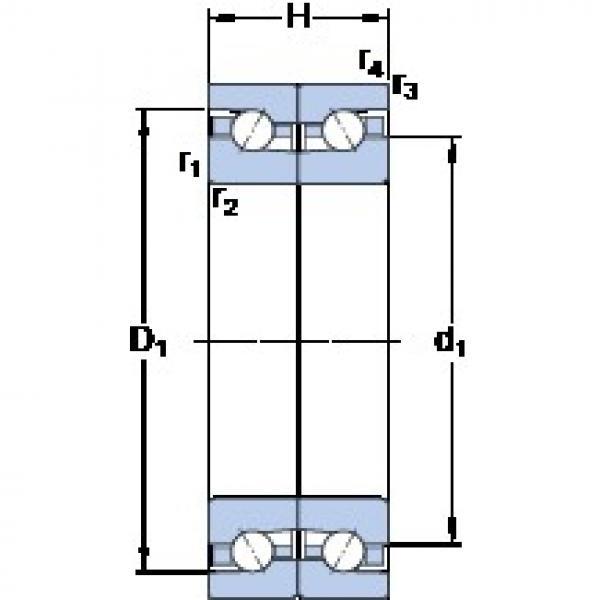 SKF BTM 75 BTN9/HCP4CDB thrust ball bearings #3 image